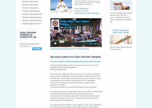Charlotte yoga teacher training urban bliss yoga