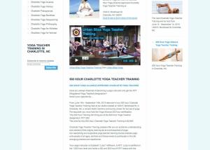 Charlotte yoga teacher training urban bliss yoga